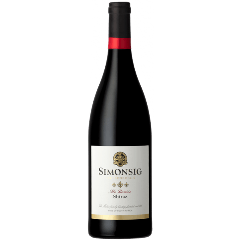 Mr. Borio's Shiraz
