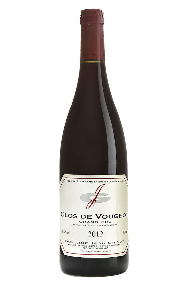Domaine Jean Grivot Clos de Vougeot Grand Cru 2012