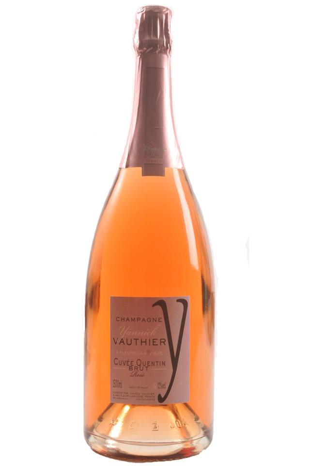 Yannick Vauthier Brut Rosé Cuvée Quentin (Magnum)