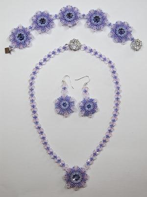 Set Glittering Purple