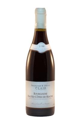 """F&D Clair Bourgogne rouge """"Hautes Côtes de Beaune"""" 2016"""