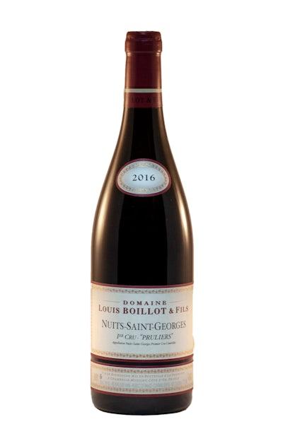 Louis Boillot & Fils Nuits-Saint-Georges 'Pruliers' 1er Cru 2016