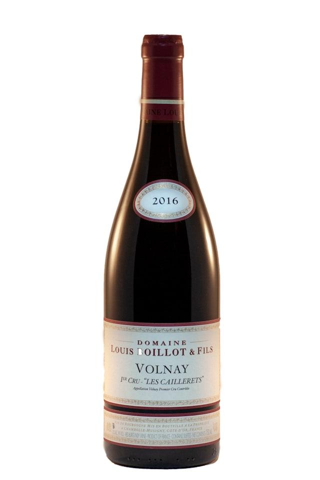 Louis Boillot & Fils Volnay 'Les Caillerets' 1er Cru 2016