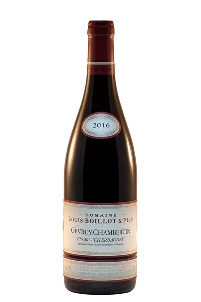 Louis Boillot & Fils Gevrey-Chambertin 'Les Cherbaudes' 1er Cru 2016
