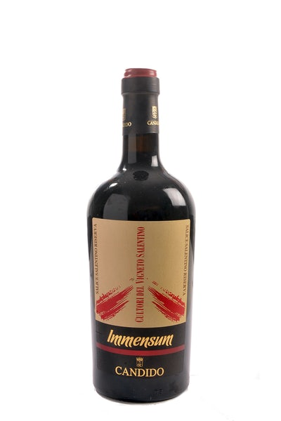 Azienda Candido Immensum Salice Salento DOC Rosso Riserva 2015 (Magnum in kist)