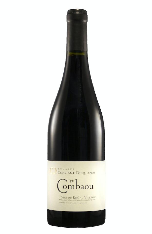 Constant-Duquesnoy Côtes du Rhône Villages Rouge Lou Combaou 2017