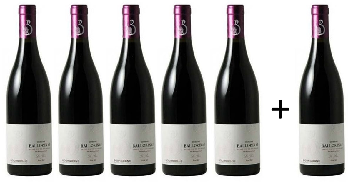"Afbeelding bij Bourgogne Pinot Noir ""Le Bon"" 5+1 gratis"