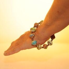 Vrolijk, gekleurde armband