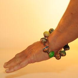Vrolijk, gekleurde armband (2)