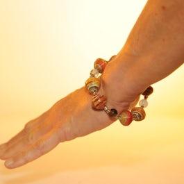 Vrolijk, gekleurde armband (3)