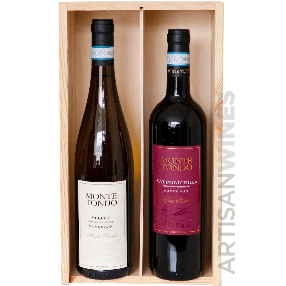Wijnkistje Monte Tondo Soave Classico & Valpolicella