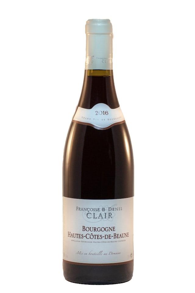 F&D Clair Bourgogne rouge Côtes de Beaune Villages 2018