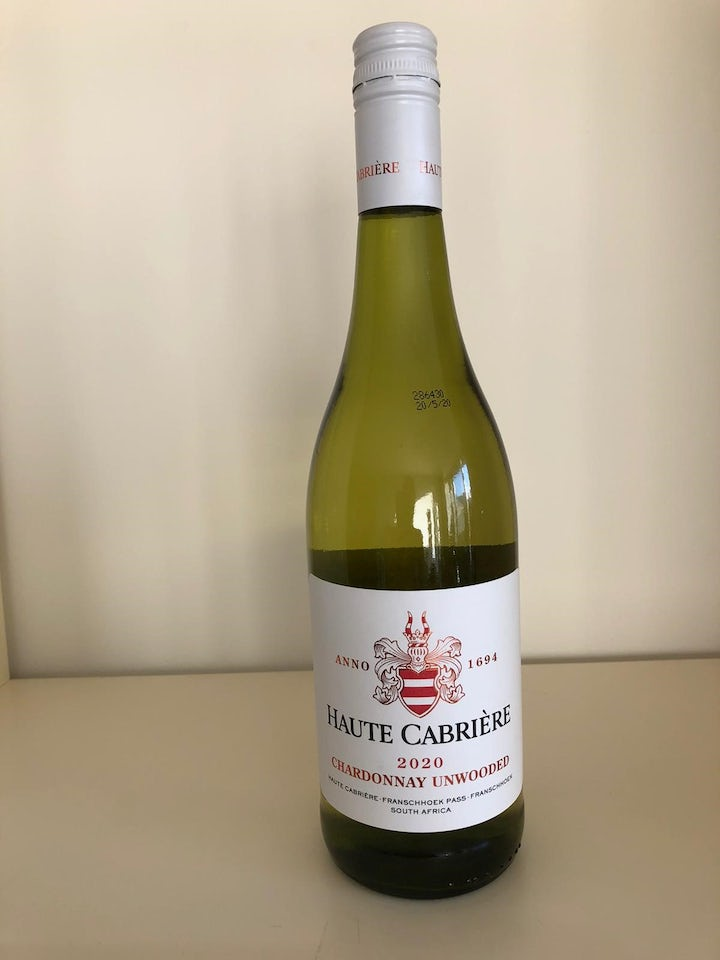 Haute Cabriere Chardonnay Unwooded