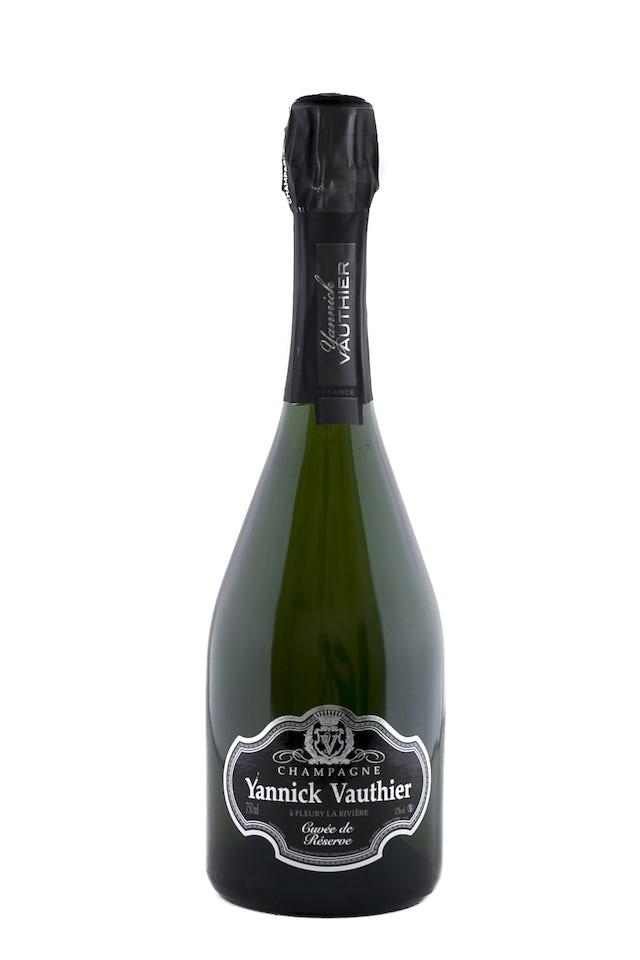 Yannick Vauthier Champagne Cuvée de Réserve Millésime 2015
