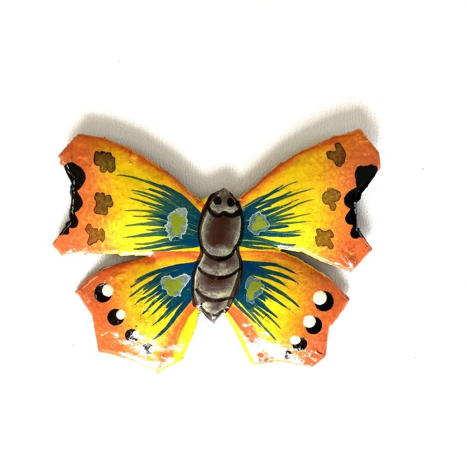 NIEUW: Magneet metaal 'Vlinder' - KM.007 - UITVERKOCHT