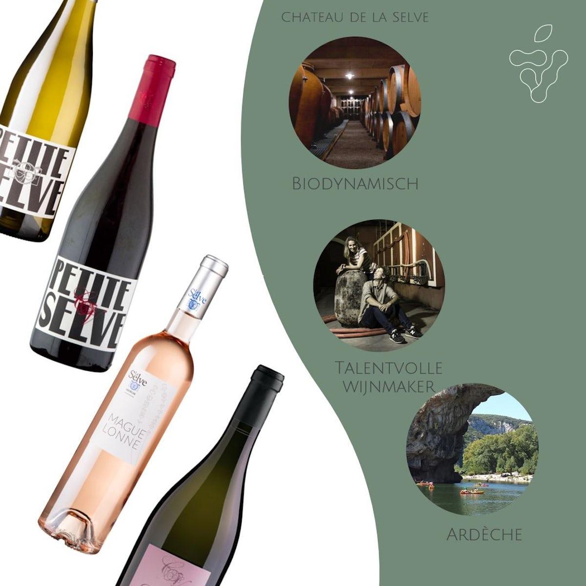 Afbeelding bij Proefpakket Château de la Selve - 12 flessen