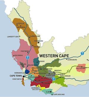 De wijngebieden van Zuid-Afrika