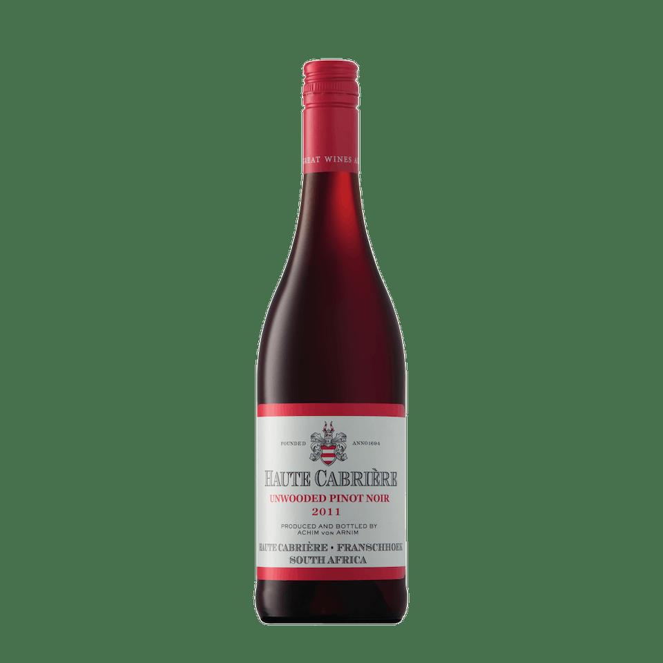 Haute Cabrière Unwooded Pinot Noir
