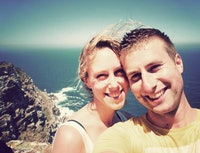 Rick en Anne-Mae Kaap de Goede Hoop Zuid-Afrika