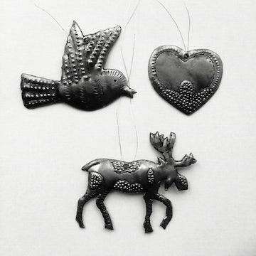 Kersthangers Vredesduif, Hartje, Eland - KR.001 -