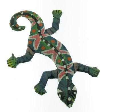 Magneet gecko groen
