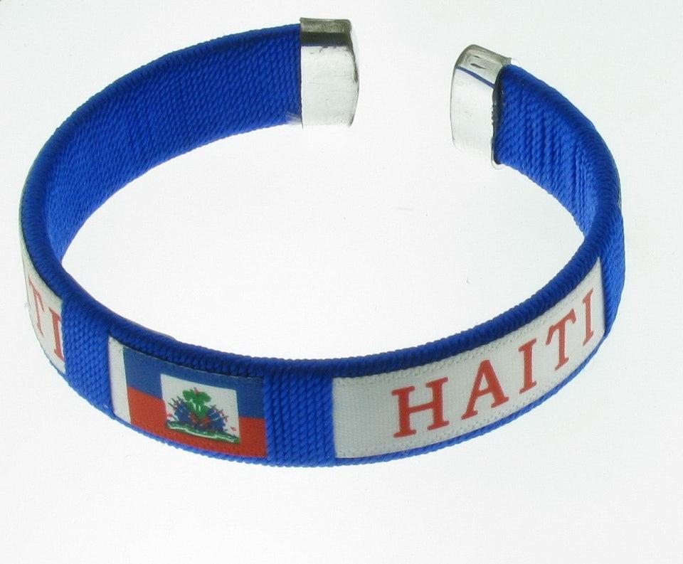 Armbandje blauw
