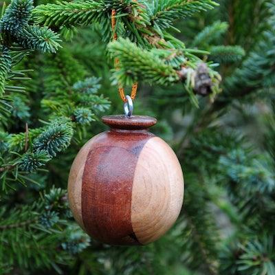 Kerstbal hout