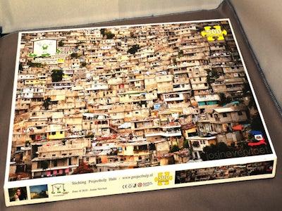 Legpuzzel Haiti 500 stukjes