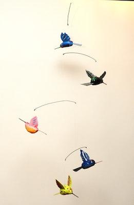 Mobile II met 5 kolibries