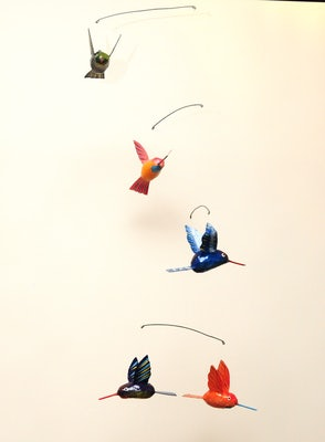 Mobile III met 5 kolibries