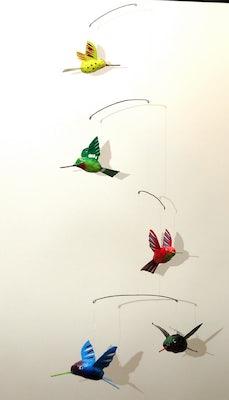 Mobile I met 5 kolibries