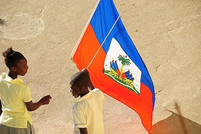 Vlag Haiti 90x150