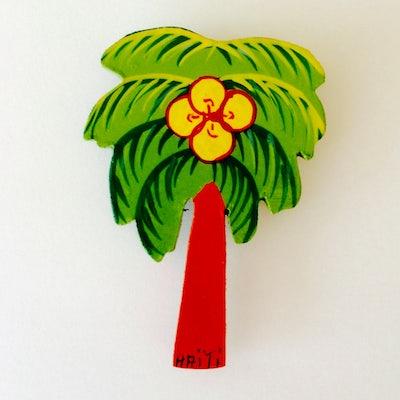 UITVERKOCHT - Magneet 'Palmboom' - KM.007 -