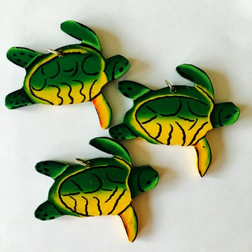 Kersthangers Schildpad, setje van 3 - KR.006 -
