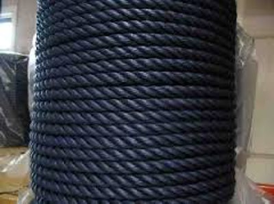 PE touw 10 mm Zwart
