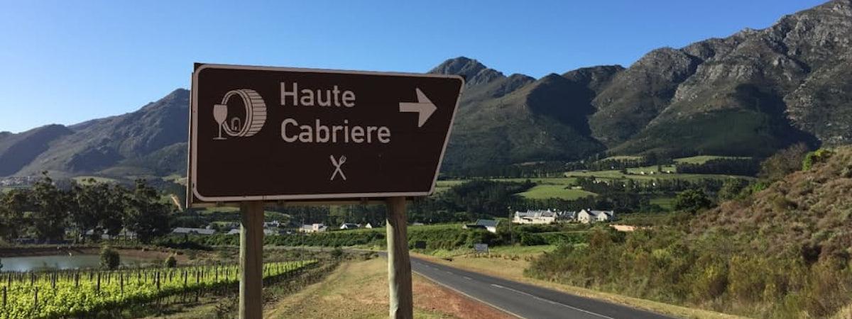 Foto bij Haute Cabrière